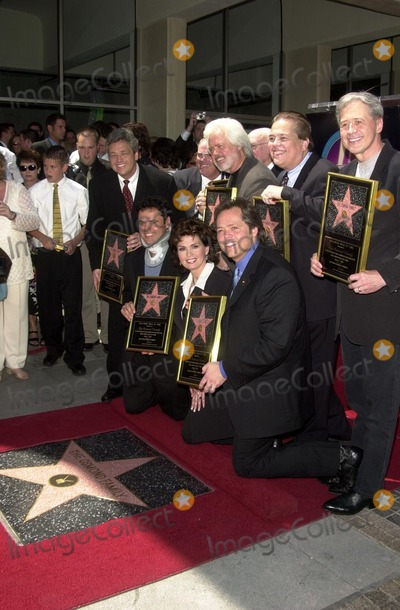 Andy Williams Photo - Jay Osmond Merrill Osmond Vernon Osmond Andy Williams Jimmy Osmond Alan Osmond Wayne Osmond Tom Osmond Johnny Grant Donny Osmond Marie Osmond and Leron Gubler