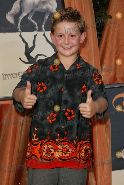 Austin Majors Photo - Austin Majors at the Opening Night of Cavalia Big Top Glendale CA 04-27-04