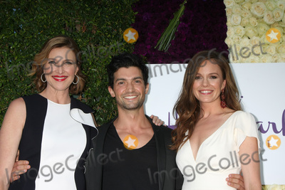 Alpay Photo - Brenda Strong David Alpay Rachel Bostonat the Hallmark 2015 TCA Summer Press Tour Party Private Residence Beverly Hills CA 07-29-15