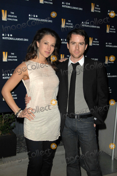 America Olivo Photo - America Olivo and Christian Campbell at the National Lab Day Kick-Off Dinner Luxe Hotel Los Angeles CA 04-01-10