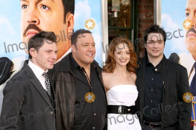 Keir ODonnell Photo - Keir ODonnell and Kevin James with Jayma Mays and Adam Ferrara at the Los Angeles Premiere of Paul Blart Mall Cop Mann Village Theatre Westwood CA 01-10-09
