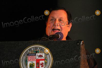 Angel City Photo - Burt Wardat the Bat Signal Lighting Ceremony to honor Adam West Los Angeles City Hall Los Angeles CA 06-15-17