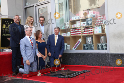 Bryan Cranston Photo - Steve Carell Judy Greer Bryan Cranston Mitch OFarrell Jennifer Garner Leron Guberat the Jennifer Garner Star Ceremony Hollywood Walk of Fame Hollywood CA 08-20-18