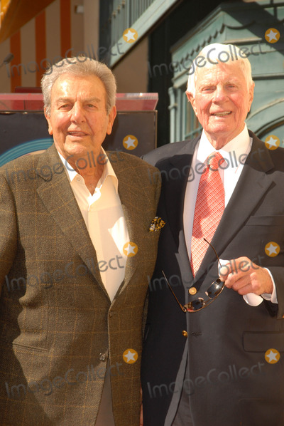 Peter Graves Photo - Mike Connors and Peter Graves at the Hollywood Walk of Fame induction ceremony for Peter Graves Hollywood CA 10-30-09