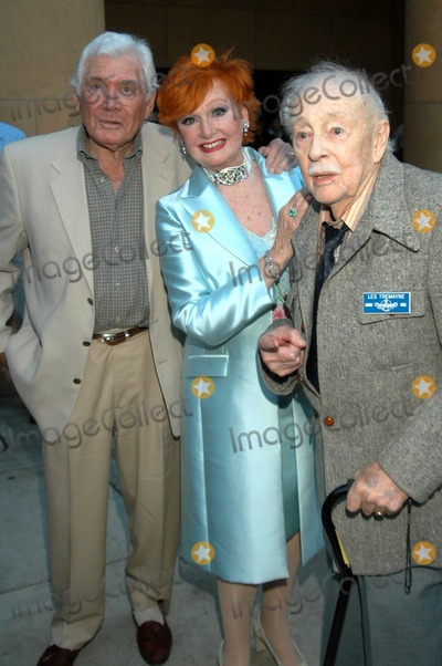 Anne Robinson Photo - Gene Barry Ann Robinson and Les Tremayne at The War of the Worlds 50th Anniversary Screening Egyptian Theater Hollywood Calif 08-07-03