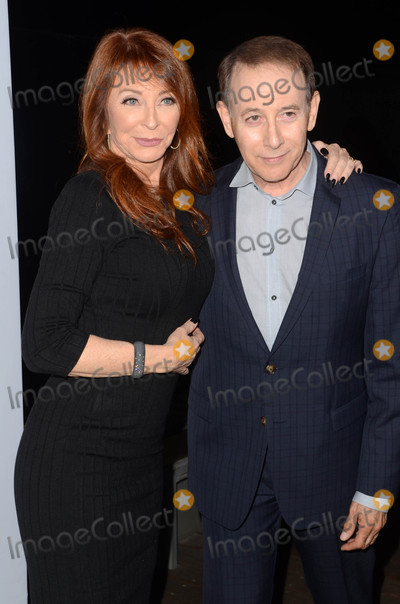 Paul Reubens- Photo - Cassandra Peterson Paul Reubensat the Elvira Mistress Of The Dark Coffin Table Book Launch Roosevelt Hotel Hollywood CA 10-18-16