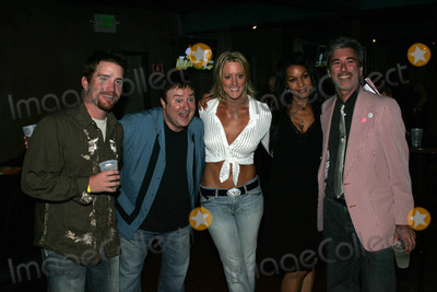 Heidi Hamilton Photo - L-R Frank Kramer Frosty Stilwell Heidi Hamilton Crysta and Steve Binderat the 2nd Annual Frosty Heidi and Frank Should I Stay or Should I Go Contest Vault 350 Long Beach CA 09-23-06