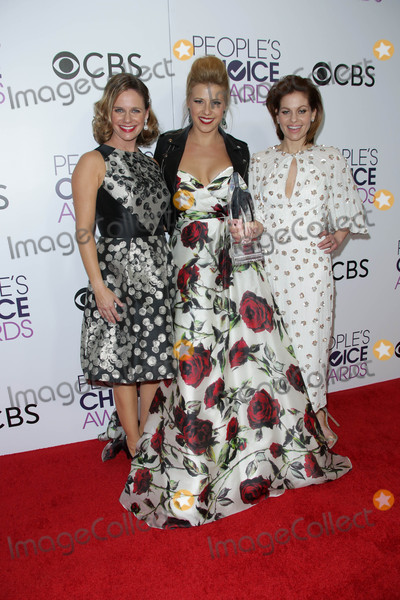 Andrea Barber Photo - Andrea Barber Jodie Sweetin Candace Cameron-Bureat the 42nd Annual Peoples Choice Awards Press Room Microsoft Theater Los Angeles CA 01-18-17