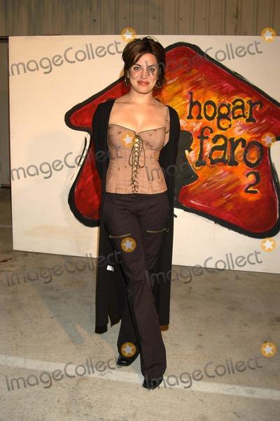Alanna Ubach Photo - Alanna Ubach at A Night with The Friends of El Faro Fundraiser Quixote Studios West Hollywood Calif 06-21-03