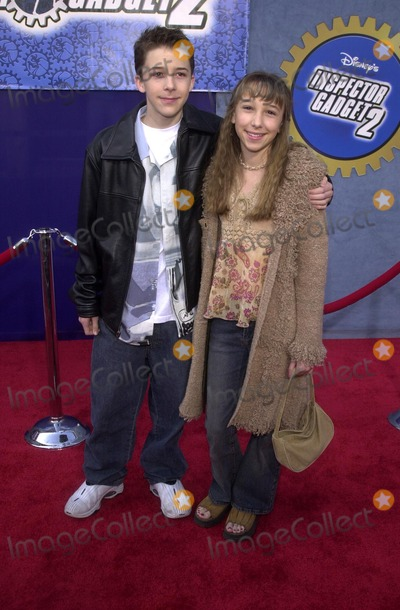 Ashley Edner Photo - Bobby Edner and sister Ashley Edner at the premiere of Disneys Inspector Gadget 2 El Capitan Theatre Hollywood CA 03-08-03