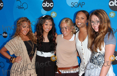 Adrienne Bailon Photo - Adrienne Bailon Brenda Song Sabrina Bryan Kiely Williams and Miley Cyrusat the Disney ABC Television Group All Star Party Kidspace Childrens Museum Pasadena CA 07-19-06