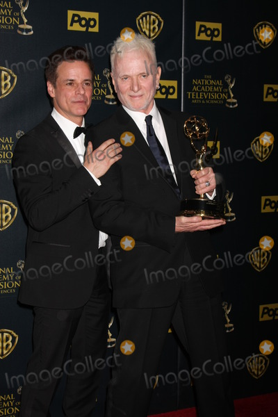 Tony Geary Photo - Christian LeBlanc Tony Geary at the 2015 Daytime Emmy Awards Press Room at the Warner Brothers Studio Lot on April 26 2015 in Los Angeles CA Copyright David Edwards  DailyCelebcom 818-249-4998