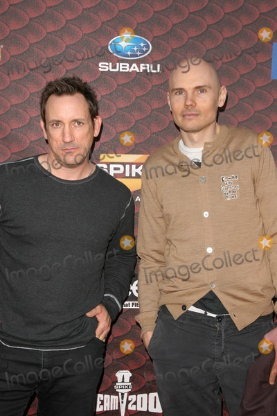Jimmy Chamberlin Photo - Jimmy Chamberlin and Billy Corgan at Spike Tvs Scream 2008 Greek Theatre Hollywood CA 10-18-08