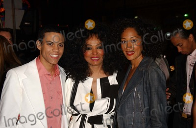 ATL Photo - Evan Ross Naess with Diana Ross and Tracee Ellis Rossat the Los Angeles Premiere of ATL Graumans Chinese Theatre Hollywood CA 03-30-06