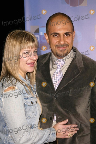 Anthony Azizi Photo - Anthony Azizi and date at the ABC All-Star Party in the Pacific Design Center Los Angeles CA 01-15-04
