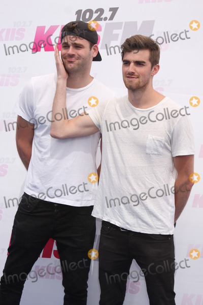 The Chainsmokers Photo - Alex Pall Andrew Taggart The Chainsmokersat the 2014 Wango Tango Stub Hub Center Carson CA 05-10-14