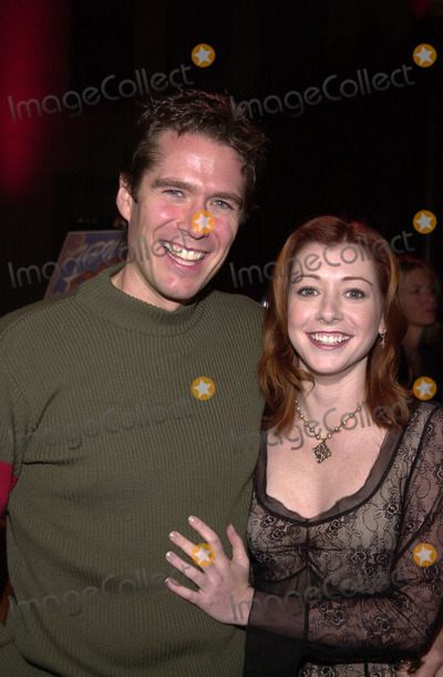 Alexis Denisof Photo - Alexis Denisof and Alyson Hannigan at the screening of Buffy The Musical at Paramount Studios Hollywood 11-02-01