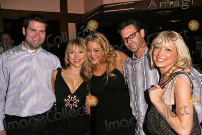 Ashley Peldon Photo - Jennifer Blanc with Brad Sandler and Courtney Peldon and Steve Hurdle and Ashley Peldon at Jennifer Blancs Birthday Party Amagi Night Club Hollywood CA 04-21-09