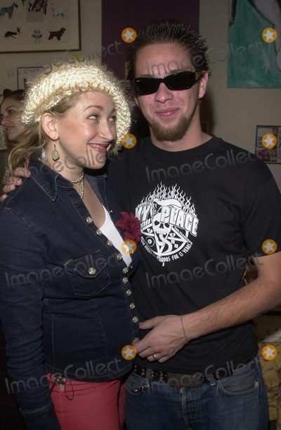 Alex M Photo - Jennifer Blanc and Paul Shugerman at the Icecubes By Alex M Trunk Show at Blancs 5224 Hollywood Blvd Los Angeles CA 11-10-02