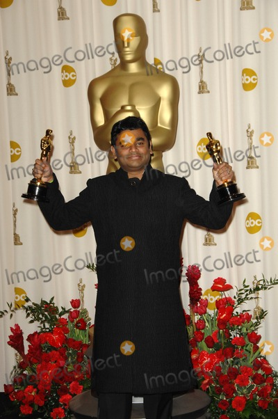 AR Rahman Photo - AR Rahmanin the Press Room at the 81st Annual Academy Awards Kodak Theatre Hollywood CA 02-22-09