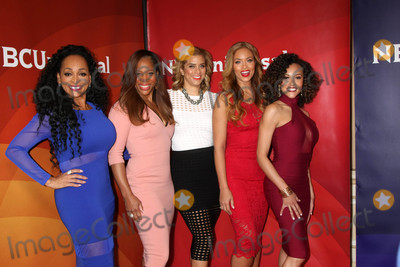 Robyn Photo - Real Housewives of Potomac Karen Huger Charrisse Jackson Jordan Robyn DIxon Gizelle Bryant Ashley Derbyat the NBCUniversal Cable TCA Press Day 2 Winter 2016 Langham Huntington Hotel Pasadena CA 01-14-16