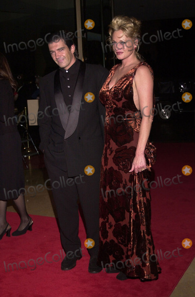 Melanie Griffith Photo -  Antonio Banderas and Melanie Griffith at the Moving Picture Ball in Beverly Hills 09-23-00
