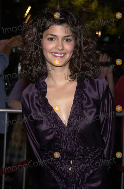 Audrey Tautou Photo -  AUDREY TAUTOU at the premiere of Miramaxs Amelie at the Academy of Motion Pictures Arts and Sciences Samuel Goldwyn Theater Beverly Hills 10-09-01