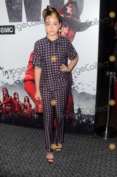 Alexa Nisenson Photo - Alexa Nisensonat The Walking Dead Season 9 Premiere Event DGA Los Angeles CA 09-27-18