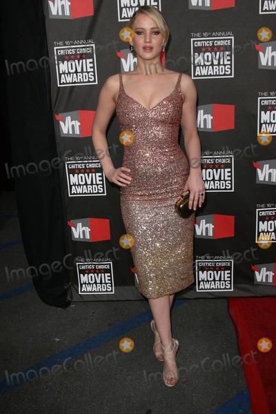 Jennifer Lawrence Photo - Jennifer Lawrence at the 16th Annual Critics Choice Movie Awards Arrivals Hollywood Palladium Hollywood CA 01-14-11