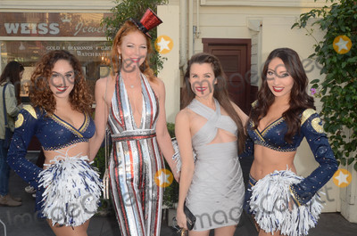 Cynthia Basinet Photo - Cynthia Basinet Alicia Arden Rams Cheerleadersat the Salvation Army Red Kettle Celebrity Kick-Off Event The Grove Los Angeles CA 11-30-17