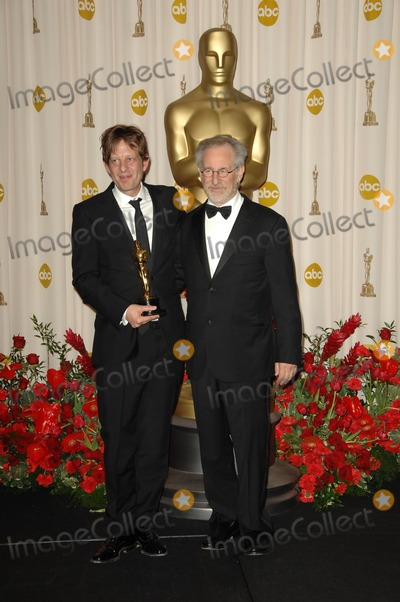 Christian Colson Photo - Christian Colson and Steven Spielbergin the Press Room at the 81st Annual Academy Awards Kodak Theatre Hollywood CA 02-22-09