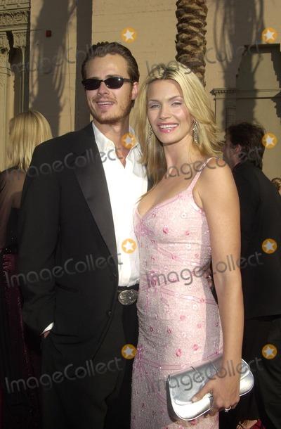 Liam Waite Photo - Liam Waite and Natasha Henstridge at the 2002 Creative Arts Emmy Awards Shrine Auditorium Los Angeles CA 09-14-02