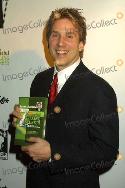 John Livesay Photo - John Livesay at the W Magazine honors author John Livesay at a private residence in Bel Air CA 01-22-04