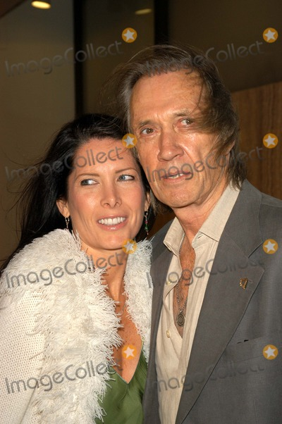 Annie Bierman Photo - David Carradine and Annie Bierman at the Los Angeles premiere of Newmarket Films Spun at the Cinerama Dome Hollywood CA 03-17-03