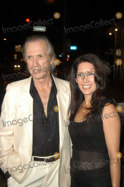 Annie Bierman Photo - David Carradine and Annie Bierman at the Grand Opening of Oasis Restaurant Los Angeles CA 09-10-03