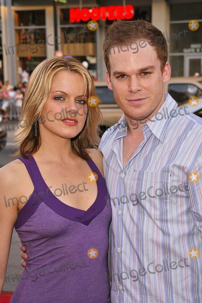 Amy Spanger Photo - Michael C Hall and wife Amy Spanger at the 4th Season Premiere of HBOs series Six Feet Under at Graumans Chinese Theater Hollywood CA 06-02-04