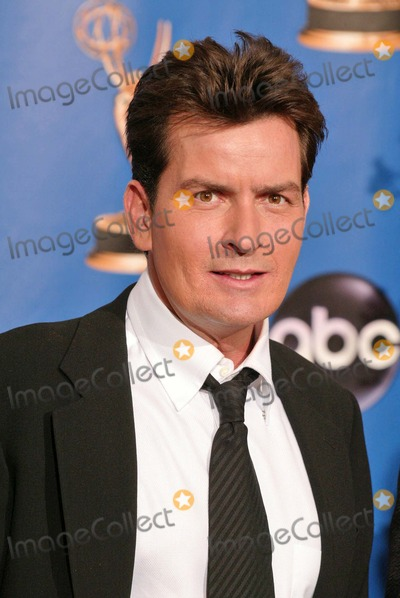 Charlie Sheen Photo - Charlie Sheen at the 56 Annual Primetime Emmy Awards at The Shrine Auditorium Los Angeles CA 09-19-04