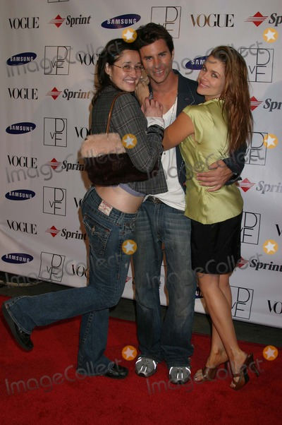Alex Mitchell Photo - Claudia Lari Alex Mitchell and Alicia Arden at a party thrown by Samsung and Vogue to launch the Limited Edition Diane Von Furstenberg Designer Mobile Phone Astra West Pacific Design Center West Hollywood CA 10-15-04