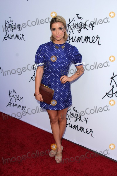 Angela Trimbur Photo - Angela Trimburat The Kings of Summer Los Angeles Special Screening Arclight Hollywood CA 05-28-13