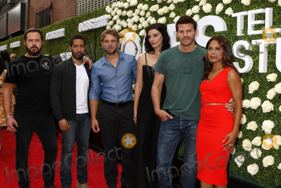 AJ Buckley Photo - Aj Buckley Neil Brown Jr Max Thieriot Jessica Pare David Boreanaz Toni Trucksat the 2017 Summer TCA Tour CBS Television Studios Summer Soiree CBS Studio City CA 08-01-17