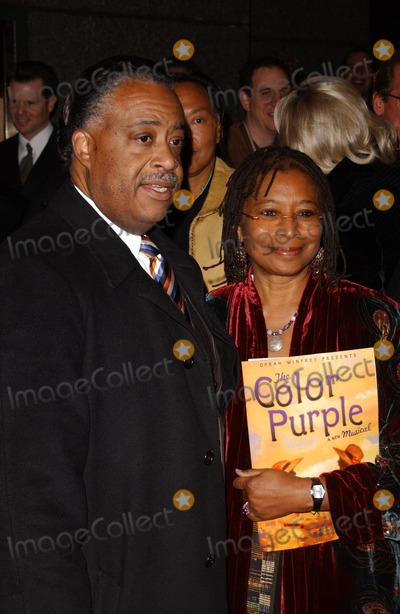 Al Sharpton Photo - Al Sharpton and Alice Walkerat the Broadway Opening of The Color Purple The Broadway Theatre New York NY 12-01-05