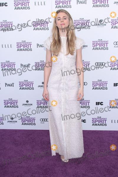 Brit Marling Photo - Brit Marlingat the 2012 Film Independent Spirit Awards Santa Monica CA 02-25-12