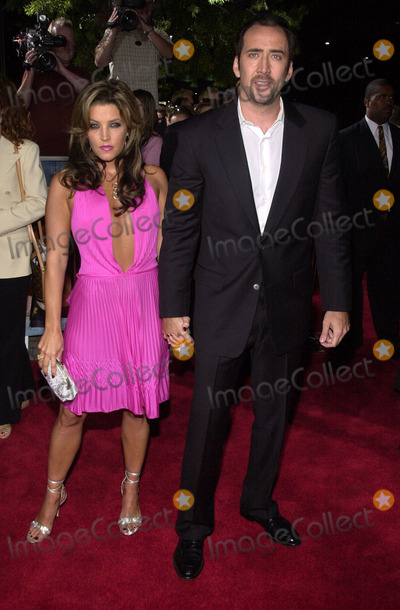 Nicolas Cage Photo -  Lisa Marie Presley and Nicolas Cage at the premiere of Universal Studios StudioCanal and Miramaxs Captain Corellis Mandolin at the Academy of Motion Pictures Arts and Sciences Beverly Hills 08-13-01