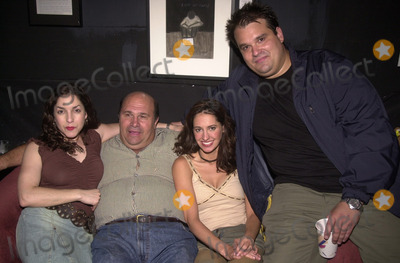Angela Pupello Photo - Angela Pupello Robert Costanzo Charlene Amola and Mel Rodriguez at the afterparty for the opening of the play West Of Brooklyn  Space Theater Los Angeles 07-06-02