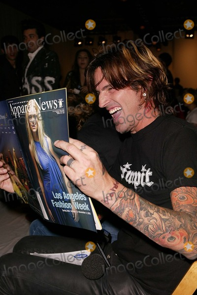 Alicia Lawhon Photo - Tommy Lee at the Alicia Lawhon Fashion Show as part of Mercedes Benz Fashion Week The Standard Los Angeles CA 10-30-03