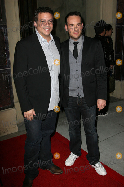 MICHAEL LUCAS Photo - Michael De Luca and Dana Brunettiat  The Social Network Blu-Ray and DVD Launch Spago Beverly Hills CA 01-06-11