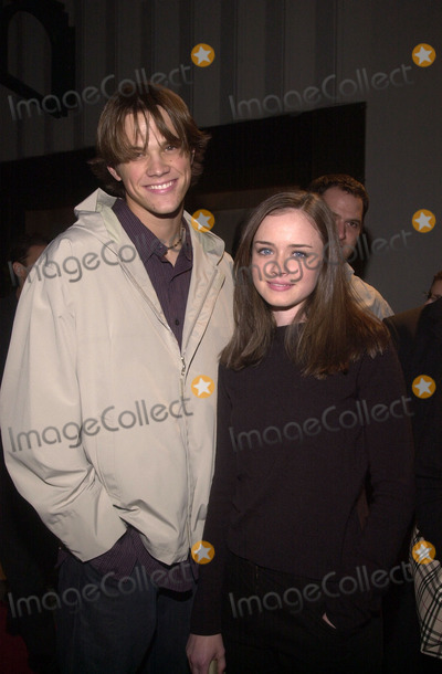 Alexis Denisof Photo - Jared Padalecki with Alexis Denisof at the WB Networks Winter 2002 All-Star Party Il Fornaio Restaurant Pasadena 01-16-02