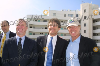 Alan Horn Photo - John Adams Alan Horn and Robert Redford at the opening of the NRDCs Green Building named for Robert Redford Santa Monica CA 11-14-03