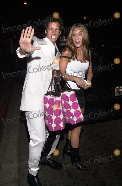 Kaya Wittenberg Photo -  KAYA WITTENBERG and VALERIE PENSO at the Glamour Dont Party where fashion faux pas are  celebrated Norms Diner Hollywood 04-05-01