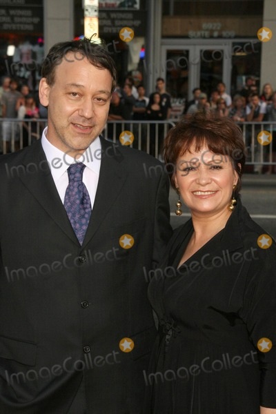 Adriana Barraza Photo - Sam Raimi and Adriana Barrazaat the World Premiere of Drag Me To Hell Graumans Chinese Theatre Hollywood CA 05-12-09
